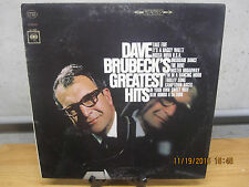 "LP Dave Brubeck's Greatest Hits Orig 1966 ""360 Sound"" Stereo w/""Take Five"" G+/VG"