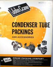 JOHN CRANE Co Condenser Heater Tube ASBESTOS Packings 1960's