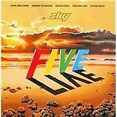 Sky - Five Live (Live Recording, 2015) CD Williams/Flowers/Peek/Fry RARE