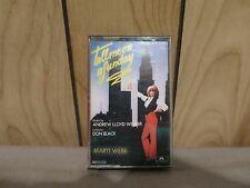 Tell Me On A Sunday Audio Cassette  Marti Webb Andrew Lloyd Webber