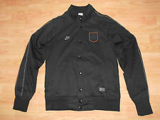 NIKE Harrington jacket, KNVB Dutch National Football Team, Black, Size Small