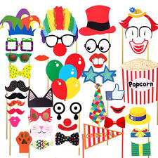 Attached Photo Booth Props, COOLOO Party Favors for Wedding Birthday Carnival