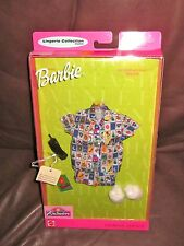 NIB  Barbie Fashion Avenue Lingerie Collection PJ's w/ house shoes and directory