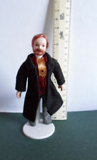 DOLLSHOUSE PORCELAIN DOLL-VICTORIAN MAN IN  FROCKCOAT
