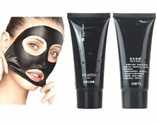 Women Black Mud Face Mask Blackhead Remover Deep Clean Purifying Peel Acne A+