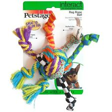 Petstages Rag Rope Ball