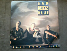 Coconut 7 inch Single SAVE YOUR LOVE  von BAD BOYS BLUE  ( 1992)