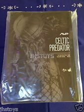 Hot Toys 1/6 AVP Alien vs Predator Celtic Predator Ver. 2.0 MMS221 EMS