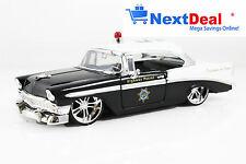 1956 Chevrolet Bel Air Police Car Jada Heat 1:24 scale Diecast Metal Model