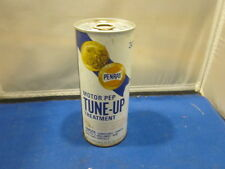 VINTAGE PENRAY MOTOR PEP TUNE-UP TREATMENT METAL CAN FULL 15 OZ 443 ml MAN CAVE