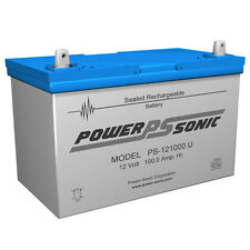 Power-Sonic Group 27 12V 100Ah Sealed Lead Acid Rechargeable Deep Cycle Battery