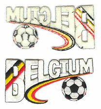 1994 WORLD CUP SOCCER PARTICIPATING COUNTRY PATCH FROM BELGIUM