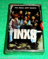 PHILIPPINES:INXS - Full Moon - Dirty Hearts,TAPE,Album,RARE,SEALED,NEW WAVE