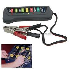 12V 6 LED TESTER DIGITALE PER VERIFICA CONTROLLO BATTERIA ALTERNATORE AUTO MOTO