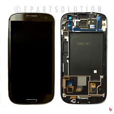 Gray Samsung Galaxy S3 i747 T999 LCD Touch Digitizer Screen Assembly NO LOGO