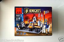 Enlighten Building Toy 81 Blocks Bricks Knights Castle Series Blacksmith Shop