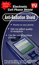 5- Electronic Cellphone  Anti-Radiation Shield~Cell Phone Protection Shield
