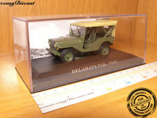 DELAHAYE VLR 1949 MILITARY 1:43 MINT WITH BOX ART!!!