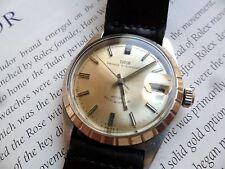 Vintage S/S 1960's Men's Tudor Prince Oysterdate Swiss Automatic Watch Runs