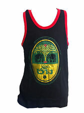 Chang Beer Singlet Vest Top Black/red size L **UK STOCK** New
