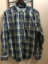 The North Face Purple Label (Nanamica) / Green Navy Plaid / L / SS15