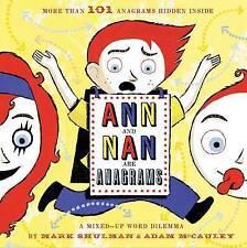 Ann y Nan son anagramas: un dilema palabra MIXTO-UP, talento, Mark, Libro Nuevo mon0000