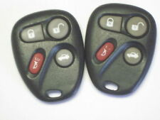 Lot 2 Buick Park Ave keyless remote cnotrol FOB replacement PHOB clicker OEM two