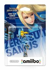 Nintendo Amiibo: Metroid: Zero Suit Samus - Super Smash Bros. Figure NEW