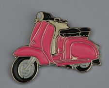 Pink Scooter Quality Mod Enamel Pin Badge