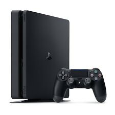 New Sony PlayStation 4 Slim 500GB Matte Black PS4 Console CUH-2015A System