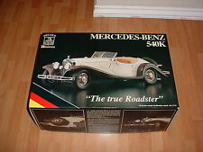 POCHER 1/8 K91 MERCEDES 540K TRUE ROADSTER MODEL KIT NISB