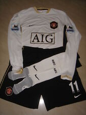 Manchester United NIKE 2006-07 EPL Away Player-issue kit 11 RYAN GIGGS shirt