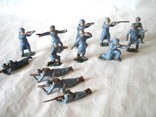 Vintage French lead Soldiers Poilus WW1 DC France collection