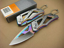 New 440C Blade G&B Knife Cute Mini Tactical Folding Pocket Fishing Saber Gift