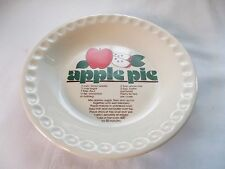Apple Pie Recipe Pie Plate 10""