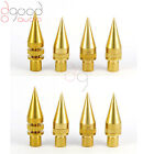 8 Solid Brass M6 Speaker Spikes Feet & Housing Height Adjustable For Rack Stands