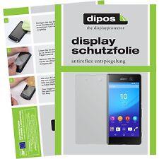 2x Sony Xperia M5 Schutzfolie matt Displayschutzfolie Folie dipos