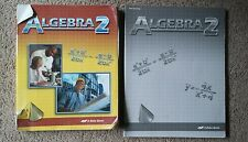 Abeka Grade 10 Algebra 2 Student Text & Test/Quiz Key 2 piece set