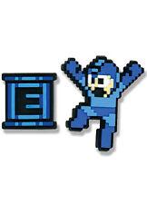 Megaman Mega Man & E Tank 2 Pin Set Licensed Anime NEW