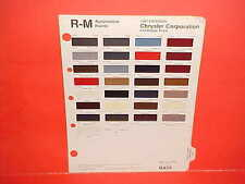 1987 CHRYSLER LEBARON CONVERTIBLE PLYMOUTH DODGE CAR PICKUP TRUCK PAINT CHIPS