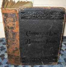 Antique 1904 SAFE COMMERCIAL LAW AND BUSINESS FORMS Hertel Jenkens PENMANSHIP +