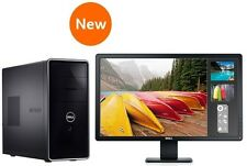 "NEW DELL i5-3330 3.20GHz QUAD CORE 8GB 1TB WINDOWS 10 PRO + 24"" MONITOR +OFFICE"