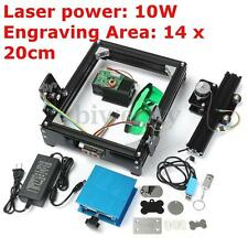 10W USB Mini Laser Engraving Machine Metal Steel Iron Stone Engraver Printer DIY