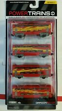 POWER TRAINS  DRAGON BULLET  Series 1 Jakks Pacific 4 TRAIN CARS