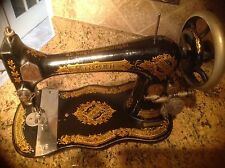 Antique 1891 Singer Sewing Machine VIBRATING SHUTTLE No. 2 - Works