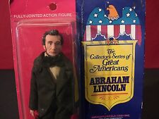 Vintage Fun World Great Americans Abraham Lincoln 1976 Rare Doll / Figure