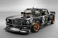 "Ken Block ford mustang Large Canvas Print  A1 30"" x 20"""