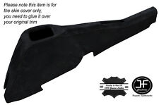 BLACK STICH CONSOLE TUNNEL SUEDE COVER FITS VAUXHALL OPEL VX220 SPEEDSTER 00-05