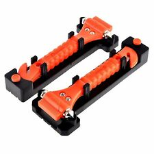Zone Tech 2x Car Emergency Escape Window Break Hammer Safety Seatbelt Cutter