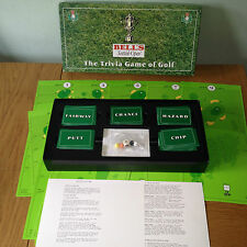 BELLS Scottish Open THE TRIVIA GAME OF GOLF Collectable Rare Game WHISKY